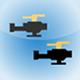 2 Flap Pixel Copters