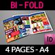 Supermarket Products Catalog Bi-Fold Brochure - GraphicRiver Item for Sale