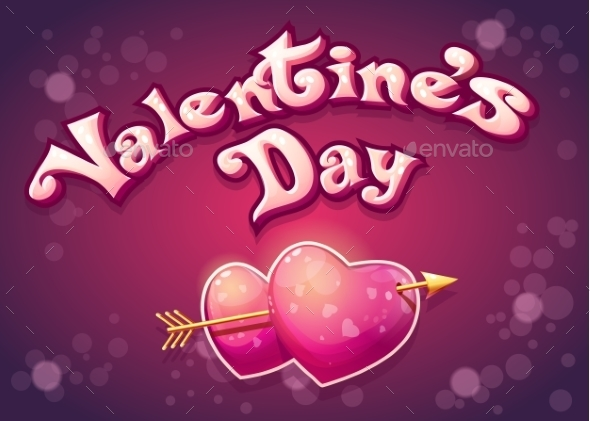 Illustration Of Valentines Day - Valentines Seasons/Holidays