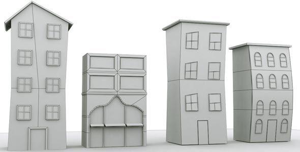 City Building 2 - 3DOcean Item for Sale