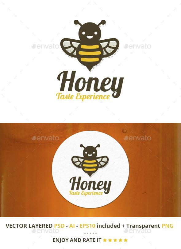 Honey Taste Experience - Nature Logo Templates