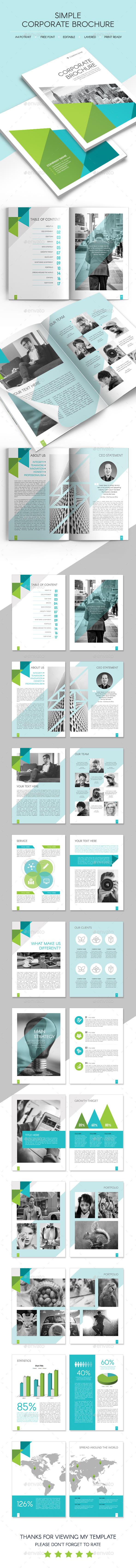 Simple Corporate Brochure - Corporate Brochures