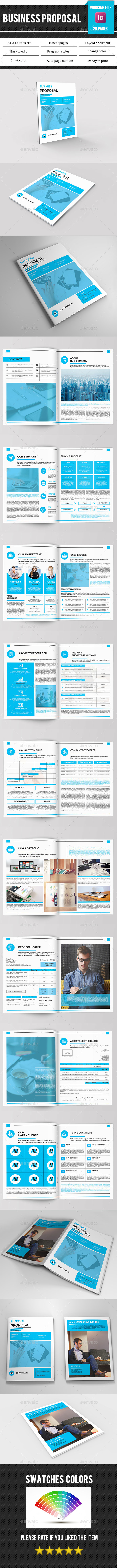 Business Proposal Template-V347 - Proposals & Invoices Stationery