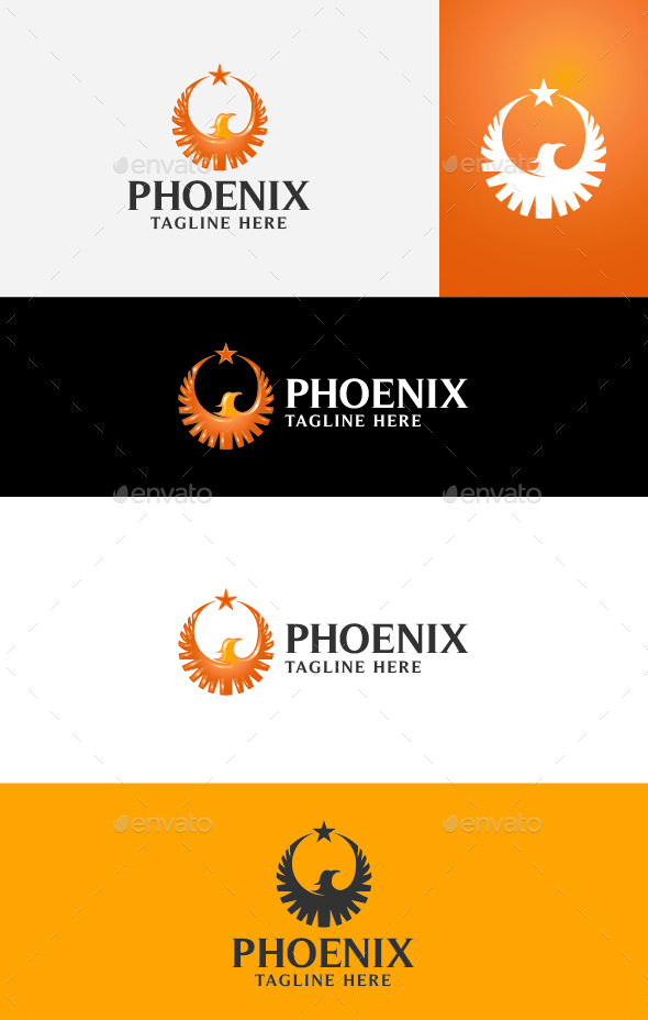 Phoenix Logo Template - Animals Logo Templates
