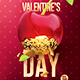 Valentine's Day | 2 Psd Flyer Templates - GraphicRiver Item for Sale