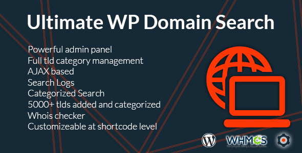 Ultimate WP Domain Search - CodeCanyon Item for Sale