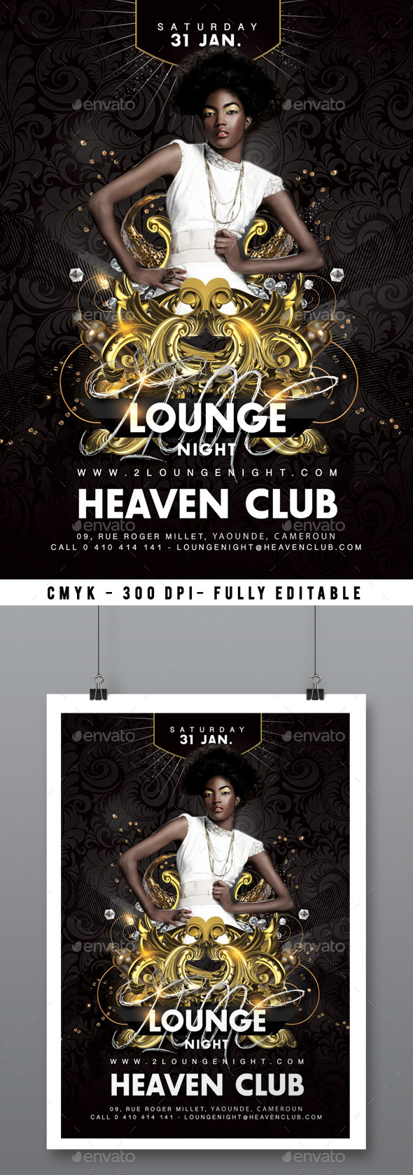 Lounge Party Flyer - Clubs & Parties Events
