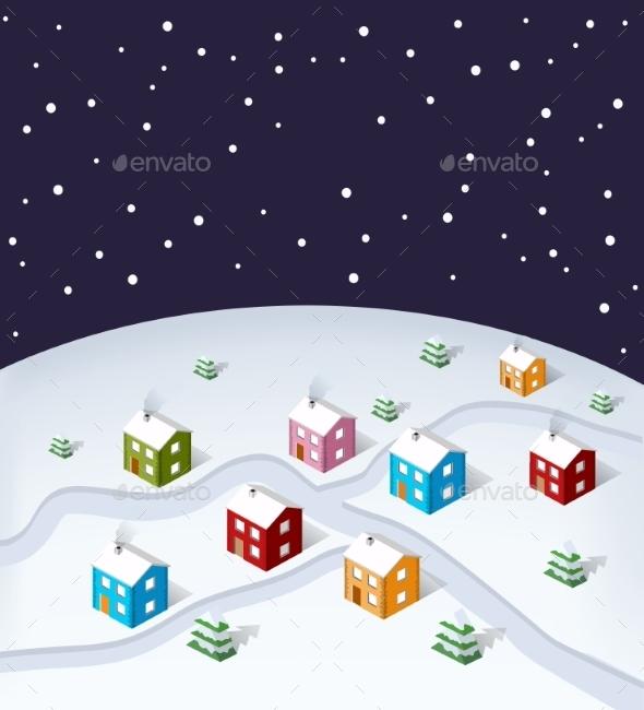 City Christmas - Christmas Seasons/Holidays