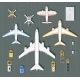 Overhead Point of View Airport - GraphicRiver Item for Sale