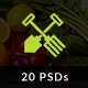 FoodFarm - Multipurpose PSD Template Nulled
