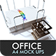 Office a4 Mock Ups - Mock Ups Set 02 - GraphicRiver Item for Sale