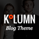 Kolumn - A Contemporary Theme for Bloggers - ThemeForest Item for Sale