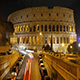 View of Colosseum at Night, Rome, Italy - VideoHive Item for Sale