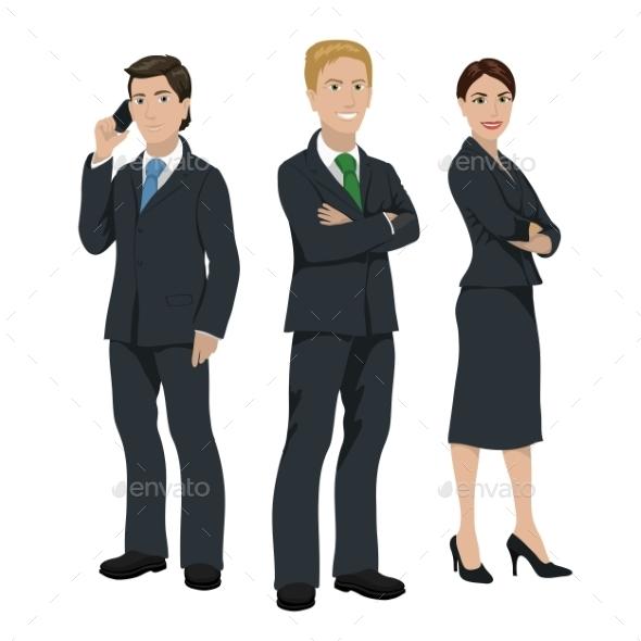 Business People Illustration - Miscellaneous Vectors