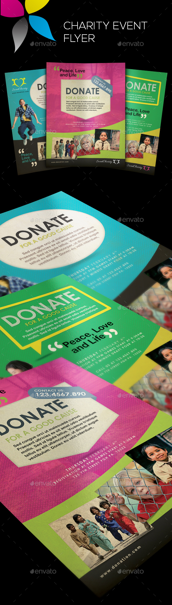 Charity Event Flyers - Corporate Flyers