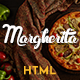 Margherita - Online Ordering Pizza Restaurant HTML