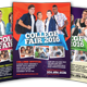 College Fair Flyer - GraphicRiver Item for Sale