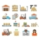 Warehouse Transportation Set - GraphicRiver Item for Sale