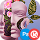 Floral Faces - Photoshop Action - GraphicRiver Item for Sale