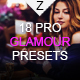 18 Pro Glamour Presets