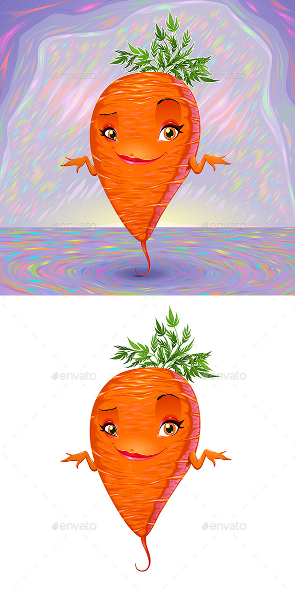 Hello My Name is Carrot - Food Objects
