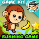 Monkey Run Game Assets 13 - GraphicRiver Item for Sale