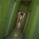 Running Away From the Darkness Through a Creepy Corridor - VideoHive Item for Sale