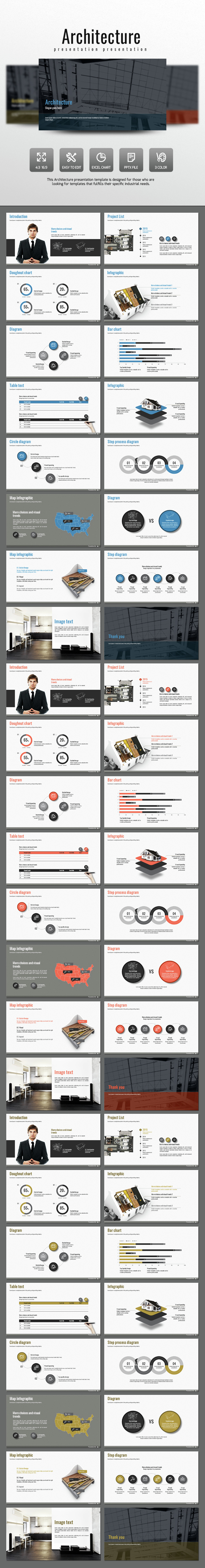 Architecture - PowerPoint Templates Presentation Templates