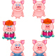 Pig Cartoon - GraphicRiver Item for Sale