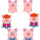 Pig Cartoon - GraphicRiver Item for Sale