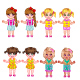 Baby Girls - GraphicRiver Item for Sale