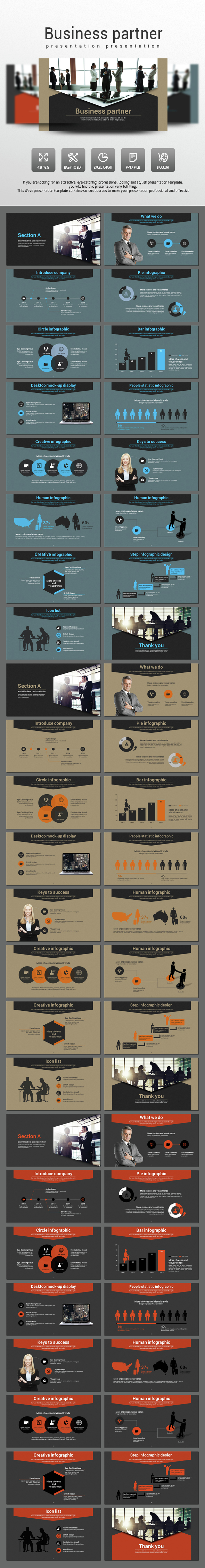 Business Partner - Business PowerPoint Templates