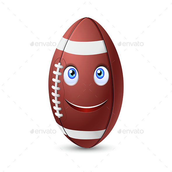 Rugby Ball - Sports/Activity Conceptual