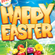 Happy Easter Flyer template 3 sizes - GraphicRiver Item for Sale