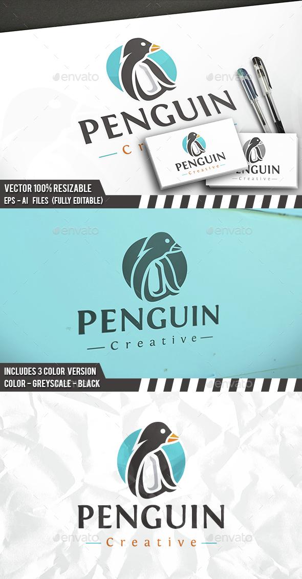Penguin Logo - Animals Logo Templates