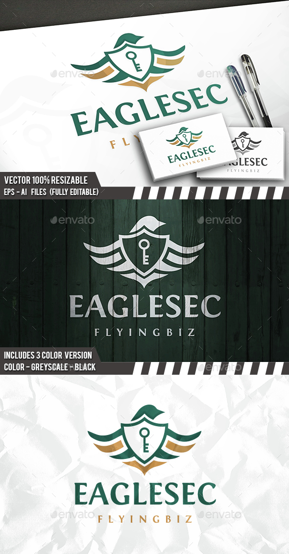 Eagle Security Logo - Animals Logo Templates