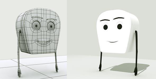 Cartoon Character - 3DOcean Item for Sale