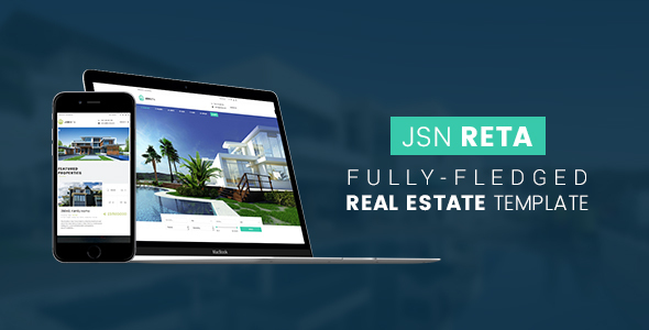 Image of JSN Reta - Fully-fledged real estate template
