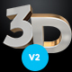 3D Letters Pack v2 - GraphicRiver Item for Sale