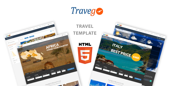 Travego – Travel Theme Responsive