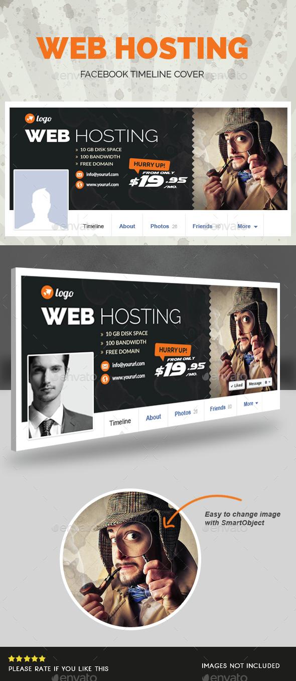 Web Hosting Facebook Timeline Cover - Facebook Timeline Covers Social Media