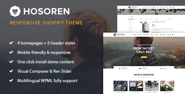 Hosoren – Responsive Shopify Theme