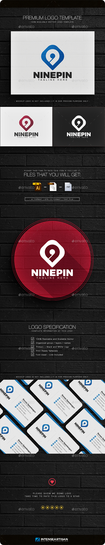 Ninepin Logo - Numbers Logo Templates