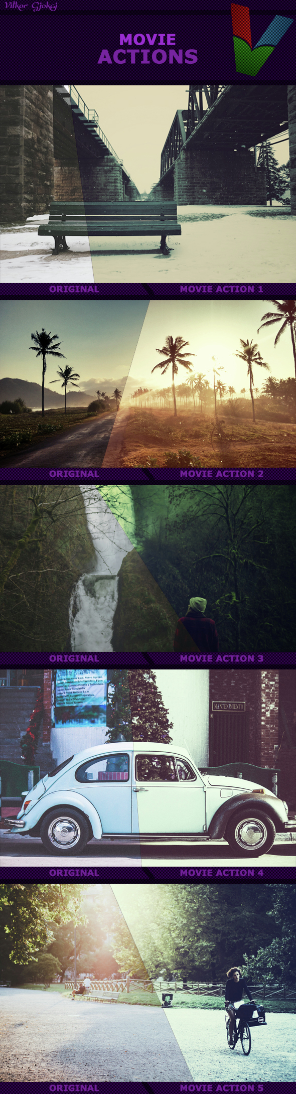 Movie Actions I  - Photo Effects Actions
