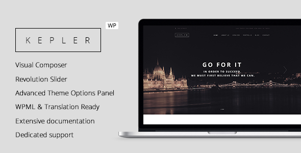Kepler – Responsive Business WordPress Theme