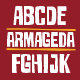 Armageda Typeface - GraphicRiver Item for Sale