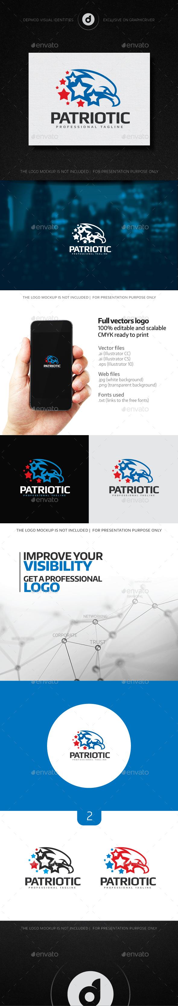 Patriotic Logo - Animals Logo Templates