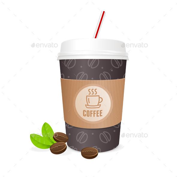 Coffee Cup. Vector - Conceptual Vectors