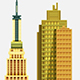 Set Of City Buildings - GraphicRiver Item for Sale