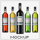 Wine Bottle Photorealistic Packaging Mock-Up - GraphicRiver Item for Sale